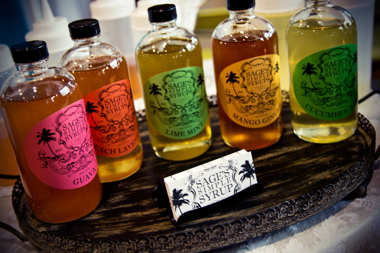 Sage's Simple Syrups (image by Haley Neale of Little Robot Photography © 2014)