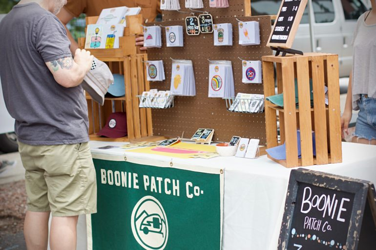 Boonie Patch Co. (image by Amanda Dowdal of Amanda Dowdal Creative © 2017)